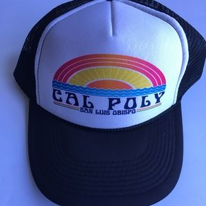 Other - ⭐️ Cal Poly Trucker Baseball Adjustable Hat NEW